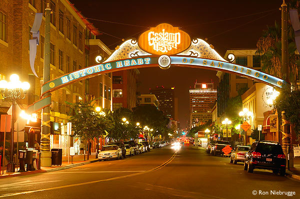The Gaslamp - Restaurants, Attractions/Entertainment, Bars/Nightife - Gaslamp, San Diego, CA, San Diego, California, US
