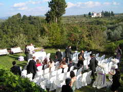 E & M's Wedding in Greve in Chianti, Italy