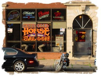 Chrome Horse Slophouse-saloon - Restaurants - 1202 3rd St SE, Cedar Rapids, IA, 52401