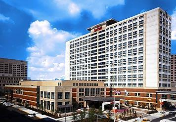Marriott Downtown Indianapolis - Reception Sites, Hotels/Accommodations - 350 W Maryland St, Indianapolis, IN, 46225