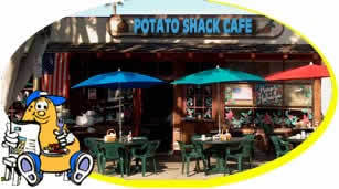 Potato Shack Cafe - Brunch/Lunch - 120 W I St, Encinitas, CA, United States