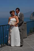 Raymond and Denise's Wedding in Vico Equense, Napoli, Italy