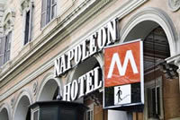Hotel Napoleon - Reception Sites, Hotels/Accommodations - Piazza Vittorio Emanuele II, 105, Roma, RM, Italy