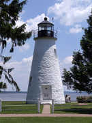 Concord Point Lighthouse - Attraction - 700 Concord St, Havre De Grace, MD, United States