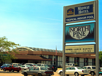 Best Western Midway Hotel - Hotels/Accommodations, Reception Sites - 7711 W Saginaw Hwy, Lansing, MI, 48917