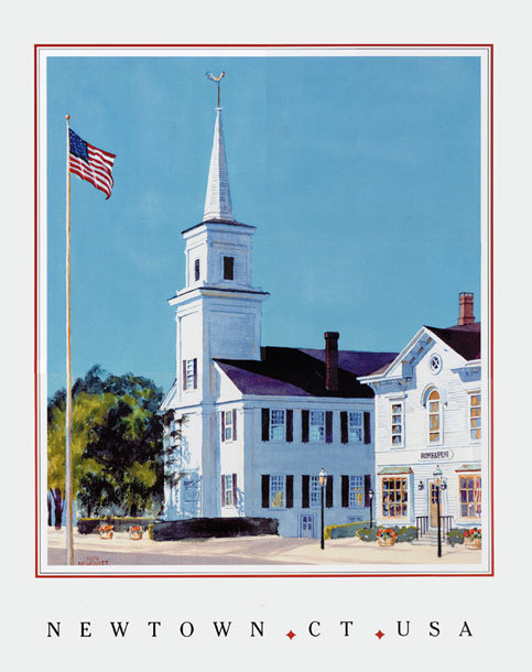 The Newtown Meeting House - Ceremony Sites - 31 Main St, Newtown, CT, 06470