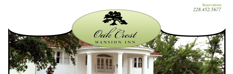 Oak Crest Mansion Inn - Hotels/Accommodations, Ceremony Sites, Reception Sites - 5267 Menge Avenue, Pass Christian, MS, United States