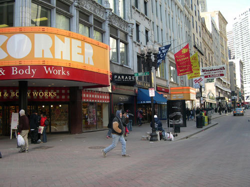 Downtown Crossing - Attractions/Entertainment, Shopping -