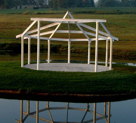 Any suggestions on how to decorate the pergola Posted in Maryville IL USA