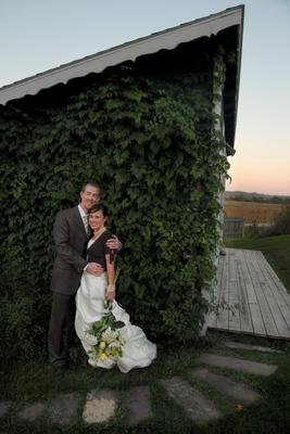 Badger farms wedding