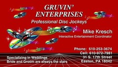 Gruvin Enterprises - DJs, Coordinators/Planners - 31 S 17th st, Easton, Pa, 18042, USA