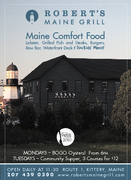 Robert's Maine Grill - Restaurants, Rehearsal Lunch/Dinner, Bridal Shower Sites - 326 Route 1, Kittery, Maine, 03904, USA