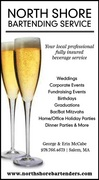 North Shore Bartending Service - Bartenders & Beverages, Caterers - 11 D Russell Drive, Salem, MA, 01970