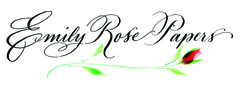 Emily Rose Papers - Invitations, Favors - Private Residence, Simi Valley, CA, 93063, USA