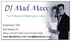 DJ Mad Maxx - DJs, Coordinators/Planners, Bands/Live Entertainment - 207 S State St, DuBois, PA, 15801, USA