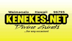 KENEKES CATERING - Caterers, Waitstaff Services, Attractions/Entertainment - 53-138  KAMEHAMEHA  HWY, PUNALU'U, HAWAII, 96717, USA