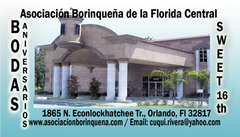 Asociación Borinqueña - Ceremony Sites, Ceremony & Reception - 1865 N. Econlockhatchee Tr., Orlando, Florida, 32817, USA