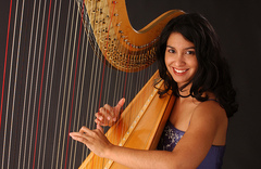 Harpist Lizary Rodriguez - Ceremony Musicians, Bands/Live Entertainment - 59 Walpole st., Canton, MA, 02021, USA
