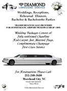 A DIAMOND LIMOUSINE - Limos/Shuttles - 603 BRIDGES ST, MOREHEAD CITY, NC, 28557, US