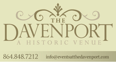 Events At the Davenport LLC - Reception Sites, Ceremony & Reception, Rehearsal Lunch/Dinner - 230 Trade St, Greer, SC, 29651, USA