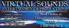 Virtual Sounds DJs Entertainment &amp; Productions - DJs, Lighting, Lighting - Salisbury, NC, 28146, USA