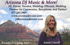 Arizona DJ Music & More! - DJs, Officiants - 75 Birch Blvd, Unit B, Sedona, AZ, 86336, USA