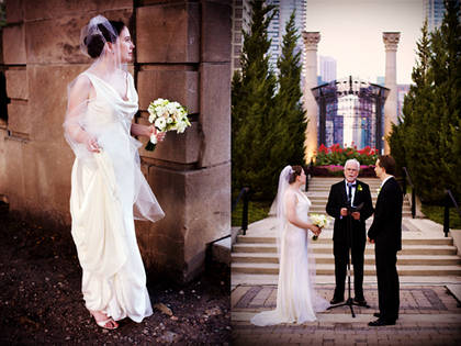 Chicago wedding, wedding dress, outdoor wedding, city wedding - Wedding Dresses - Wedding Creativo Photo & Event Loft
