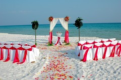 Barefoot Weddings - Coordinators/Planners, Ceremony Sites, Officiants - 230 SE Miracle Strip PKwy, Fort Walton Beach, FL, 32548, USA