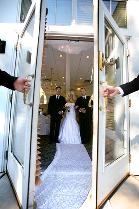 The Wedding March Begins -  - Bearpath Golf and Country Club