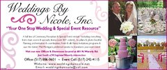 Weddings by Nicole, Inc. - Coordinators/Planners, Decorations, Rentals - 601 N. Waverly Rd., Lansing, Mi, 48917, USA