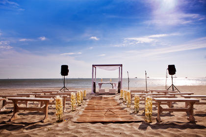 Set up in Santa Marta, Colombia. - Ceremonies - JUST MARRIED 