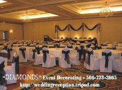 DIAMONDS Event Decorating - Decorations, Reception Sites - 50 Belmont Rd., By appointment only, Saint John , NB, E2M 6K1, Canada