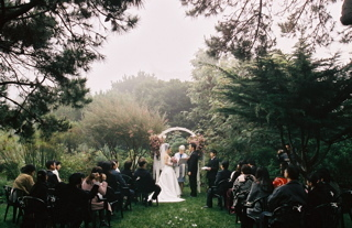 winter wedding - Ceremonies - Hastings House Garden Weddings
