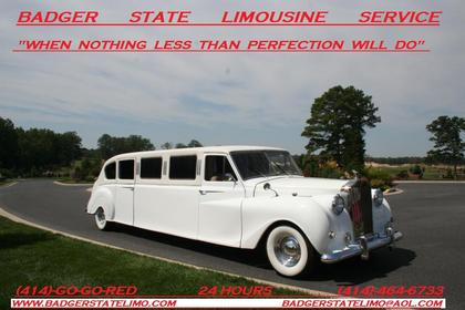 This is our 1954 Rolls-Royce-Princess. This is the only one of it's kind in America - Ceremonies - BADGER STATE LIMOUSINE SERVICE