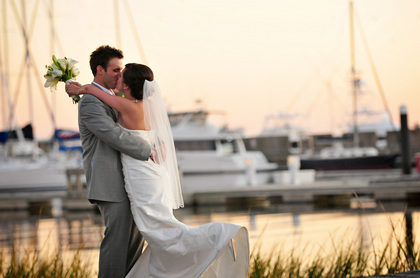 historic rice mill building waterfront venue wedding