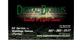 Digital Dreams Sound and Light Show - DJs - 1419 Academy Ave, Albert lea, mn, 56007
