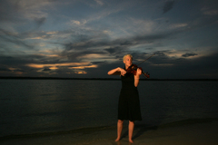 Wedding Violinist, Maura Kropke - Ceremony Musician - 104 Tennessee Ave, Carolina Beach, NC, 28428