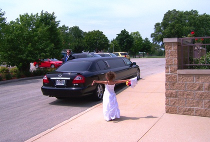This our Infiniti Q45 Limo. There were only 2 of these ever stretched, and the Twin to ours is in Russia. - Ceremonies - BADGER STATE LIMOUSINE SERVICE