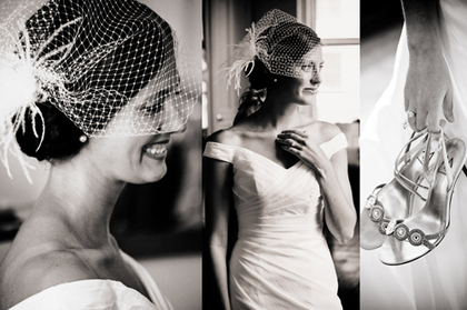 vintage, birdcage veil, wedding dress, trends - Wedding Dresses - Wedding Creativo Photo & Event Loft