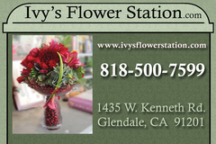 Ivys Flower Station - Florists, Decorations - 1435 W. Kenneth Road, Glendale, California, 91201, USA