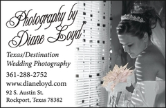 Photography by Diane Loyd - Photographer - 415 South Austin, Rockport, Texas, 78381, USA