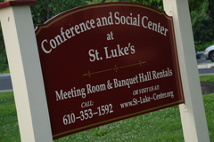 Conference and Social Center at St. Luke's - Reception Sites, Rehearsal Lunch/Dinner, Rehearsal Lunch/Dinner - 35 N. Malin Road,  Broomall, Pennsylvania, 19008