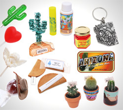 Need wedding favors for your Arizona wedding? Choose from a variety of southwest theme mini food items, souvenirs, lollipops, skin care sunscreen, and mini live cactus to give to your guests! - Favors - Arizona Gifts