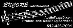 Encore Entertainment - DJ - 2800 La Frontera Blvd., Austin, TX, 78728, USA