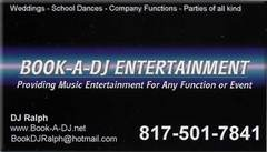 Book A DJ Entertainment - DJs - 7836 Harvest Hill Rd, N. Richland Hills, Texas, 76180