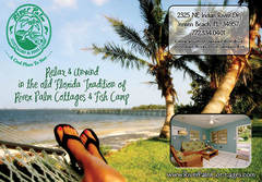 RiverPalm Cottages &amp; Fish Camp - Hotels/Accommodations, Reception Sites, Ceremony Sites - 2325 NE Indian River Dr, Jensen Beach , Fl, 34957, USA