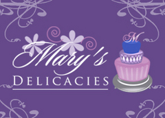 Mary's Delicacies - Cakes/Candies - PO Box 1559, Brentwood , CA, 94513, United States of America