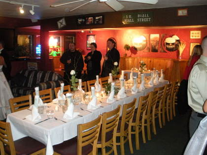 - Flowers and Decor - Murphy's Irish Pub, Restaurant & Catering
