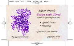 Design with Florae' - Florists, Decorations - 2416 18Th Street Suite D, Sacramento, Ca, 95818, USA