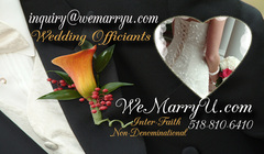 WeMarryU, LLC - Officiant - PO Box 1432, Clifton Park, NY, 12065, USA